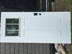Craftsman Steel Panel Door