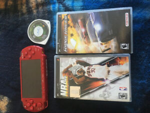 PSP for sale including chargers and games