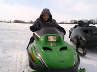 2011 Arctic cat kids snowmobile