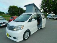 Toyota Alphard Petrol Automatic Luxury 2 + 2 Berth, Pop Top Campervan for Sale