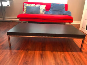 coffee table and sofa (moving sale)