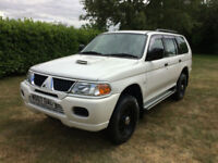 2007 07 Mitsubishi Shogun Sport 2.5TD CLASSIC 61000 MILES VERY CLEAN EXAMPLE