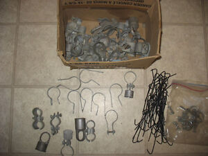 CHAIN LINK FENCE PARTS (galvanized)
