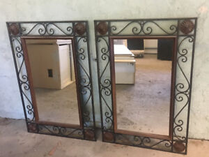 Matching Mirrors for Sale!
