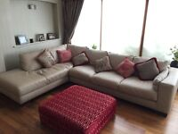Italsofa from Natuzzi Italian leather corner sofa - excellent condition!