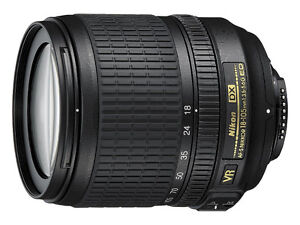 rarely used Nikon 18-105mm lens for sale