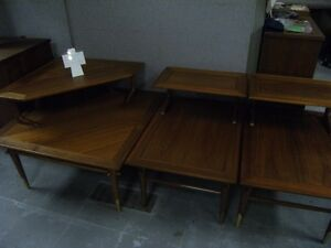 WALNUT COFFEE TABLE & END TABLE SET BY LANE Peterborough Peterborough Area image 8