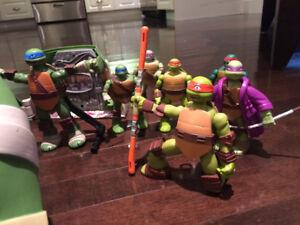 Large Ninja Turtle Set