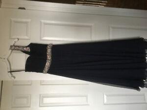 Jovani chiffon evening dress