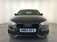 2014 AUDI A3 S LINE TFSI AUTOMATIC £20 ROAD TAX SAT NAV 1 OWNER SERVICE HISTORY