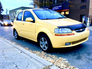 2008 Aveo Hatchback TRÈS PROPRE BIEN ENTRETENU BONNE CONDITION