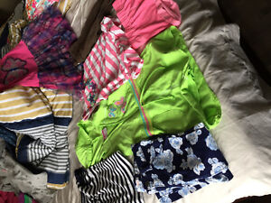 Variety of three year old girls clothes
