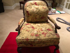 Living room Bergere armed chair