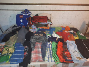 Huge lot of boy clothes size 5