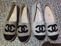 Chanel espadrilles size 6