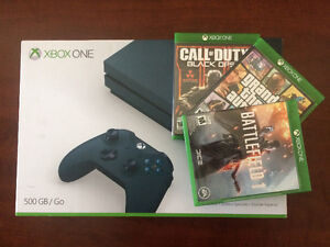 Blue Special Edition Xbox One S For Sale