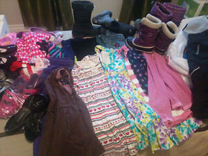 Fall/Summer Girls clothes and shoes.and Sorel Winter boots