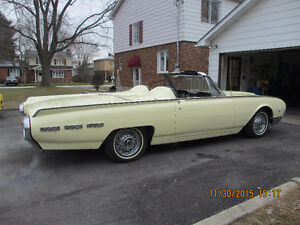 1962 Thunderbird convertible Roadster