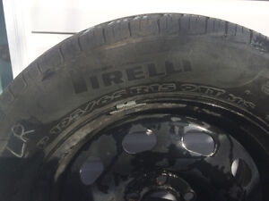 195/65/R15 set of 4 Pirelli P4 tires with rims for sale