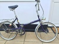 "Vintage Red Puch Promenade Shopper Bike/Bicycle - 20"" Wheels"