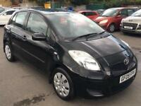Toyota Yaris tr 5dr peteol manual black