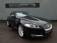 Jaguar XF 2.2 Diesel Luxury (black) 2012