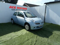 2006 NISSAN MICRA 1.2 16v INITIA 3 DR,ONLY 66000 MILES WITH FULL SERVICE HISTORY