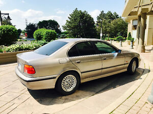 2000 BMW 5-Series 540i Sedan - always parked underground.