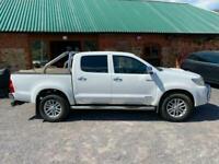 Toyota Hi-Lux 3.0D-4D auto Invincible Double Cab Pickup 2012 White No VAT