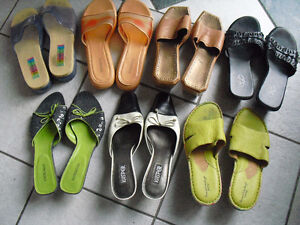 12 pair women shoes all for $40 obo