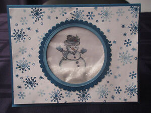 Frosty the Snowman Stampin' Up! Card class Kitchener / Waterloo Kitchener Area image 3