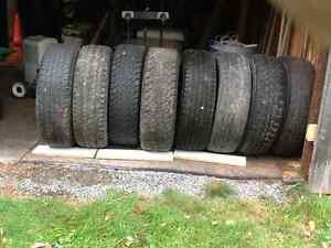 8 tires