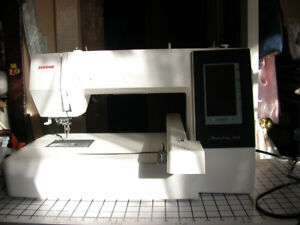 Fantastic Janome MemoryCraft 500E Embroidery Only Machine