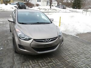 2013 Hyundai Elantra GL Berline à vendre par le propriétai
