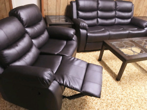 Brand New Reclining Sofa, Loveseat and Chair