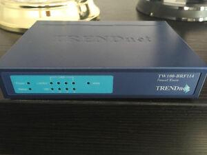 Trendnet firewall router 4 port