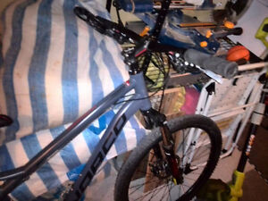 hardly used  17'' NORCO mountain bike for sale