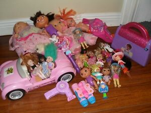 Girls dolls and toys