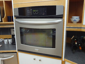 Refrigerator, Wall Oven & Cooktop Stove