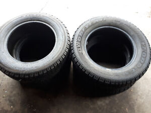 Like brand new winter tires. For sale.
