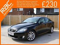 2009 Lexus IS IS250 2.5 SE-I 6 Speed Auto Full Leather Heated Ventilated Seats J