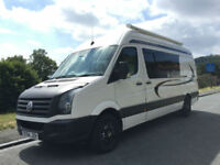 Volkswagen CRAFTER CR35 TDI 4 berth van conversion