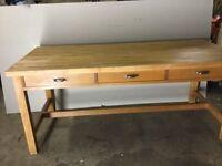 Solid Hardwood Kitchen Table