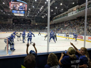 TORONTO MARLIES vs Utica Comets Wed Jan 9th @ 7:00pm 4 Tickets