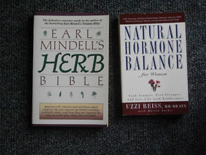 Herb Bible and Natural Hormone Balance Books