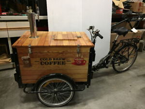 Icicle Tricycle - coffee on the go