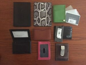 NEW Passport holders & credit card wallets - ALL FOR $40 TOTAL