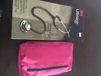 Brand new stethoscope and blood pressure cufd