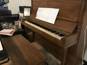 Heintzman Piano and Stool