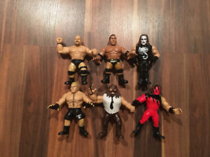New WWE Wrestling Figures Brock Lesnar Mankind Kane